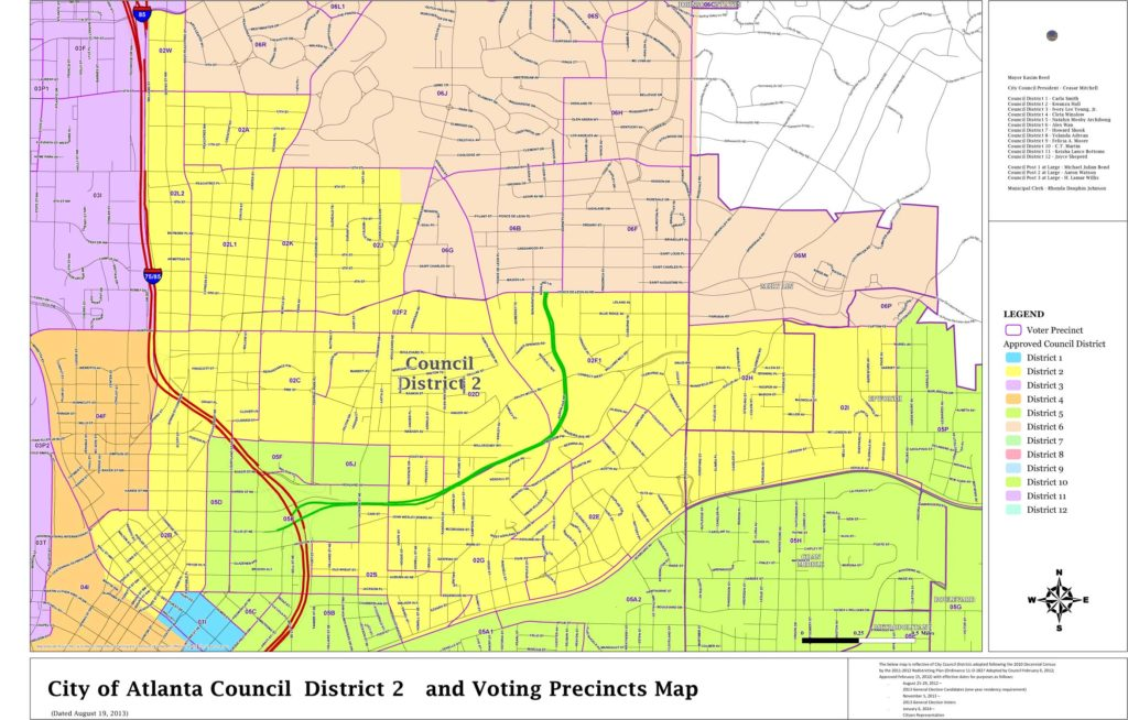 District Maps Committee For A Better Atlanta