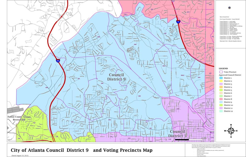 District Maps - Committee for a Better Atlanta on